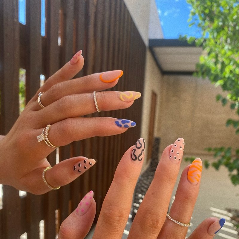 Designer Nails for a Fancy Vacation