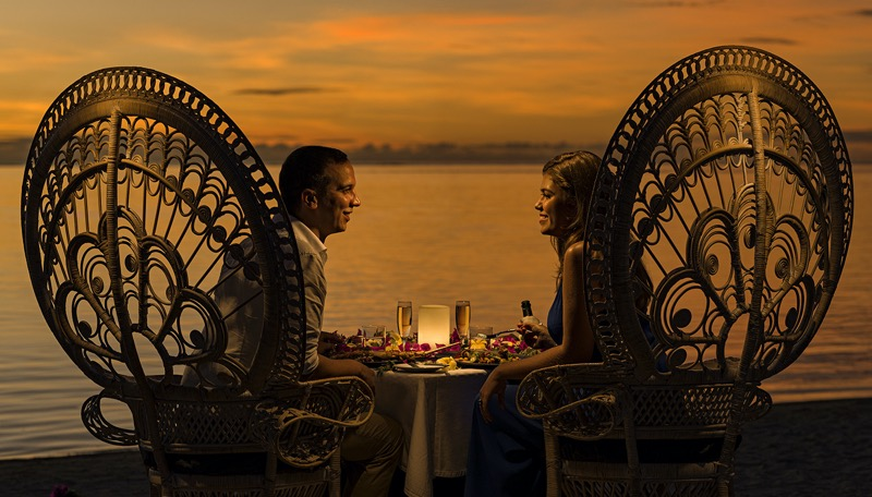 Have a romantic dinner