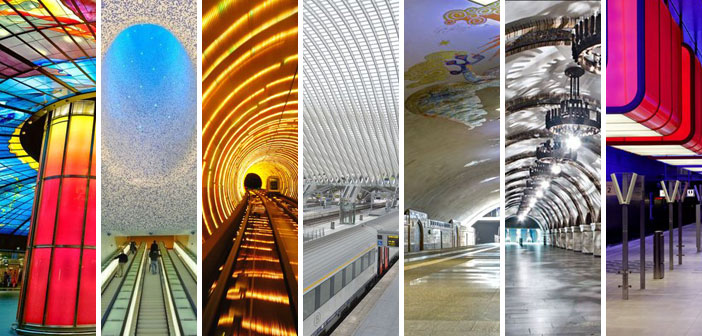 19 Most Beautiful Metro Stations In The World